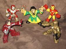 Iron Man, Tony Stark, Mandarin, Rapid Deploy - Super Hero Squad Cake Topper