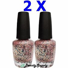 OPI Nail Polish Lacquer SR E96 More Than A Glimmer 0.5 oz (Lot of 2)
