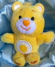 "Mini Plush Funshine Care Bear for BJDs Ginny Heartstrings Etc 7-14"" Doll Diorama"