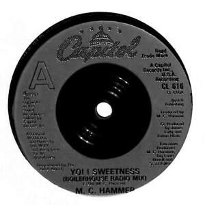 "MC Hammer - Yo!! Sweetness - 7"" Record Single"