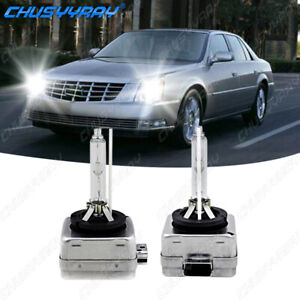 For Cadillac DTS 2006-2011 6000K D1S HID Headlight Bulb Low & High Beam Set of 2