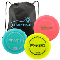Discraft Disc Golf Set Driver 170-172, Mid Range 170-172, Putter 170-172 w/ Bag