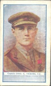 Gallaher - The Great War VC Heroes, 4th Series - 99 - Captain Chas G Vickers, VC