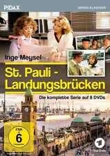 8 DVDs * ST. PAULI LANDUNGSBRÜCKEN - DIE KOMPLETTE SERIE # NEU OVP ^