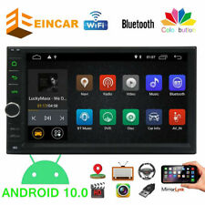 Android 10.0 Double 2Din 7inch InDash Car No DVD Radio Stereo WiFi GPS 1+16GB