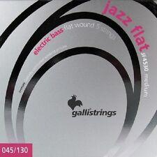 Galli JF4530 Jazz Flat Wound Bass Strings Medium 45-130 5 CORDE PER BASSO ELET