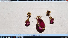 Pendent and Earrings set Magnificent and Elegant