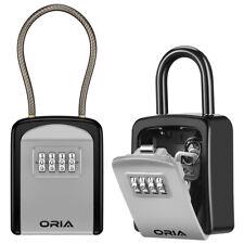 Outdoor Padlock 4ampdigit Combination Password Key Lock Storage Safe Security Box