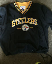 Vintage Champion Pittsburgh Steelers Pullover Jacket Size Mens XL