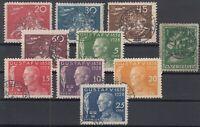N3905/ SWEDEN – 1924 / 1928 USED SEMI MODERN LOT – CV 250 $