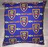 Real Salt Lake MLS Pillow Reals Pillows Real Pillows Handmade in USA.