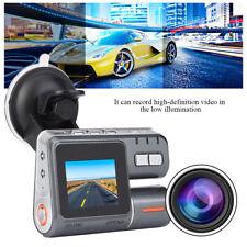"Dual Lens Camera 2"" TFT HD Car DVR Dash Cam Video Recorder G-Sensor Night Vision"