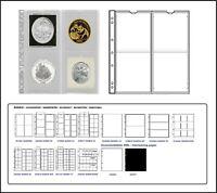 1 x Leuchtturm 321507-L MÜNZHÜLLEN NH4 NUMIS 66 Für Münzen bis 66 mm