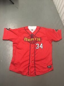 2014 NY Penn League All Star Game Jersey Size 50 Cyclones Brooklyn Lake Monsters