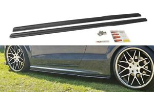 SIDE SKIRTS ADD-ON DIFFUSERS FOR AUDI TT S MK2 (8J) (2008-2014)