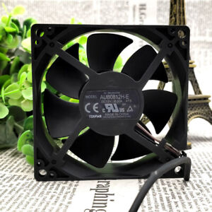 DELTA AUB0812H-E ROO PROJECTOR Cooling Fan DC 12V 0.30A 80mm x 80mm x 25mm 3WIRE