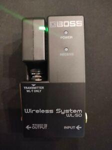 Boss WL-50 Gitarre Bass Funksystem Digital Pedalboard