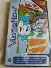 Video Now Color 3 Disk Set Nickelodeon Rocket Teenage Robot Jimmy Neutron Sealed