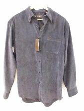 New TASSO ELBA Men's Dark Gray Button Down Long Sleeve Shirt Size M (ID#2301)