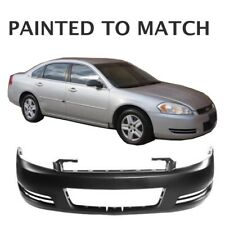 Painted to Match - Fits 2006 2007 2008 2009 Chevy Impala Front Bumper w/out Fogs