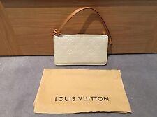 Louis Vuitton Crema Vernis Lexington CLUTCH POCHETTE