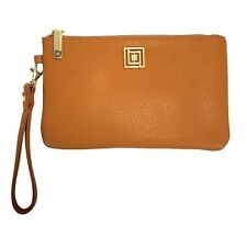 NWOT Liz Claiborne Tan Phone Charging Wallet/Wristlet For iPhone And Android