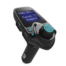 A2DP Bluetooth 4.0  Wireless FM transmitter 2.1A USB for iPhone 7 Plus 6S Nexus