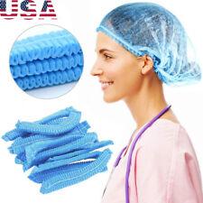 100PCS Protective Disposable Caps Hair Net For Salon Spa Shower Hair Protection