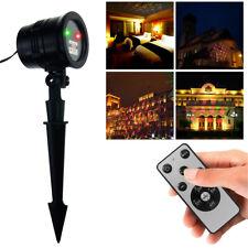 LED Laser Licht Projektor Weihnachtsdekoration Weihnachtsbeleuchtung IP44 Balkon