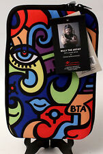 Billy the Artist Neoprene E-Reader Pouch Zip Close by Enesco