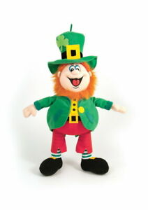 "7"" Finnegan Hanging Leprechaun-Soft Toy -Irish-Collectables"