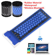 Portable Mini BT  Foldable Wireless Keyboard For Phone Tablet Laptop PC BT