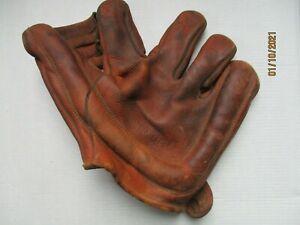 vintage baseball glove nokona softball antique left hand