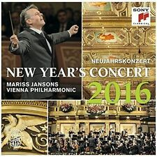 NEW YEAR'S CONCERT 2016 NEW CD
