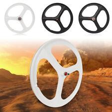 700C Fixed Gear Wheels 3-Spoke Rim Set of Front & Rear Fixie Bike / Single Speed