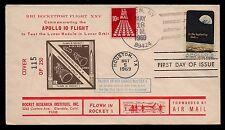 1969 US rocket mail RRI flight XXV, Apollo 10, 121C1a