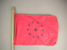 Rare Mini Desk Golden State Flag Company Battle Ensign Csa States of America