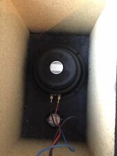 "9-6116/081 6.5"" Woofer 4 Ohm Speaker & Tweeters In Box Encl. Psb/Bravo? Lot Of 2"