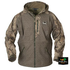 BANDED GEAR TULE LAKE FULL ZIP JACKET DUCK HUNTING COAT NATURAL GEAR CAMO LARGE