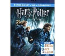 cofanetto+ 2 blu ray blr nuovo(no dvd)Harry Potter E I Doni Della Morte-Parte I