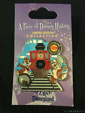 Disney CHIP & DALE DISNEYLAND RAILROAD Piece of Disney History Series I LE Pin