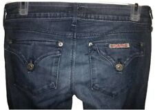 Hudson Jeans Collin Flap Skinny Jean 24 Dark Wash Low Rise Stretch