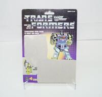 Hook Devastator Cardback Vintage Hasbro 1985 G1 Transformers Action Figure