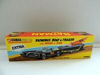 Corgi Juniors Batman empty box Batmobile, boat and trailer