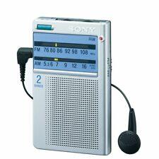 SONY pocketable radio business card size FM / AM / FM wide corresponding JAPAN