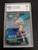 1996-97 Kobe Bryant E-X2000 Star Date 2000 #3 Rookie RC GEM Mint BGS BCCG 10 REF