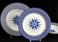 Victoria Beale WILLIAMSBURG 2 Rim Soup Bowls + Salad Plate 9026 GREAT CONDITION