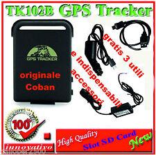 LOCALIZZATORE PORTATILE TRACKER GPS TK102-B TK 102-2 PRO slot SD con 3 OMAGGI