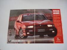 advertising Pubblicità 1993 ALFA ROMEO CUORE SPORTIVO