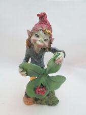 """Fairy Garden St. Patrick's Day Garden 5"""" Pixie w/ Shamrock #2"""